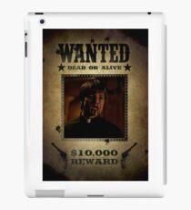 Buffy Caleb Nathan Fillion Wanted 4 iPad Case/Skin