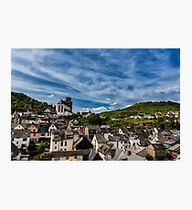 Small Town of Oberwesel Photographic Print