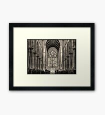 ~ imperious ~ Framed Print