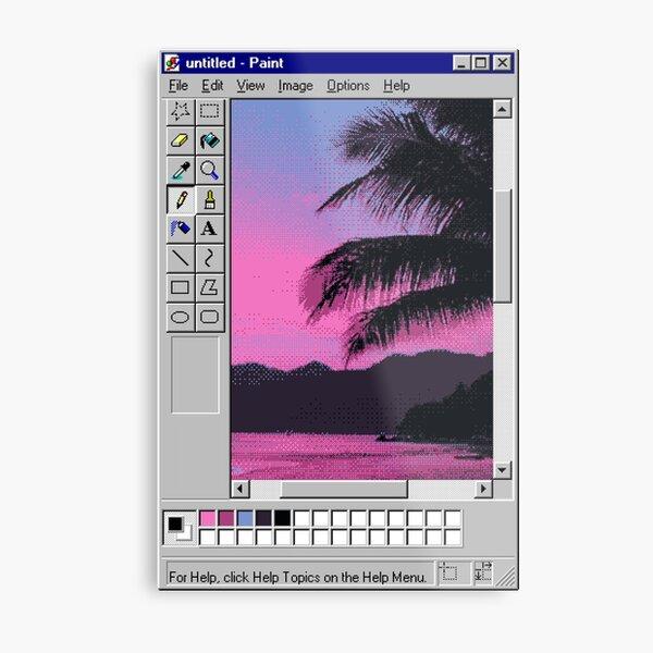 MS Sunset Metal Print