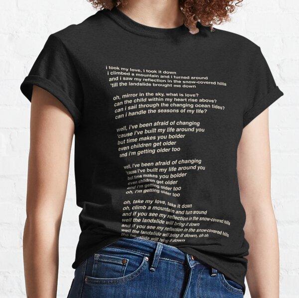 Glissement de terrain par Fleetwood Mac T-shirt classique