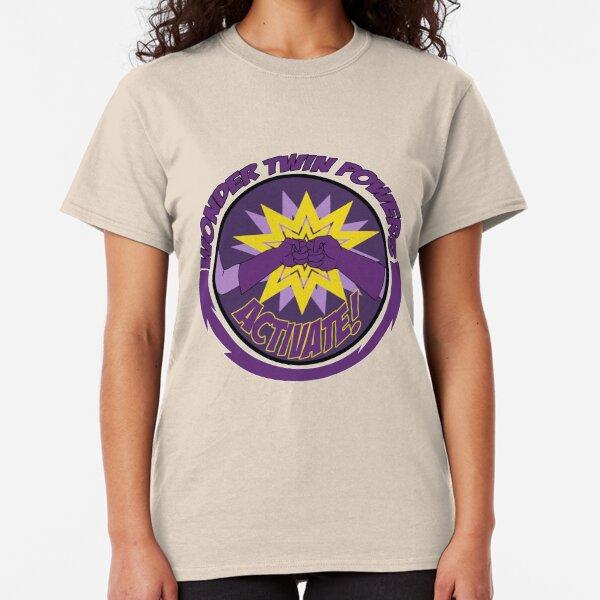 Wonder Twins Power Activate Classic T-Shirt