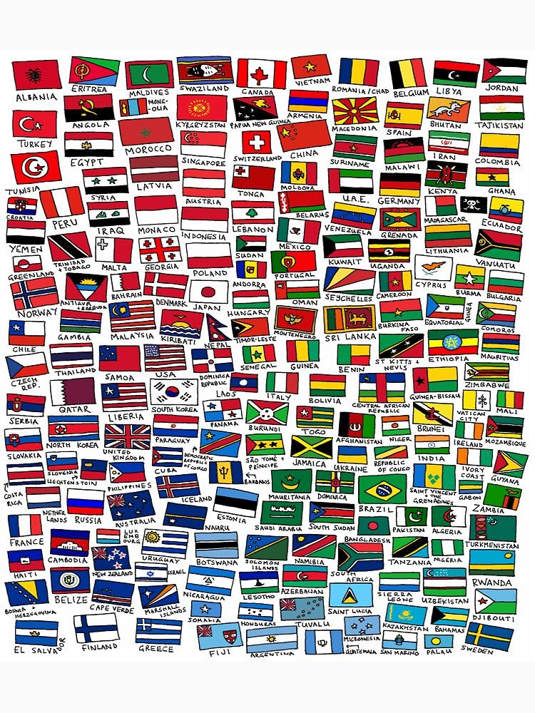 World Flags | Unisex T-Shirt