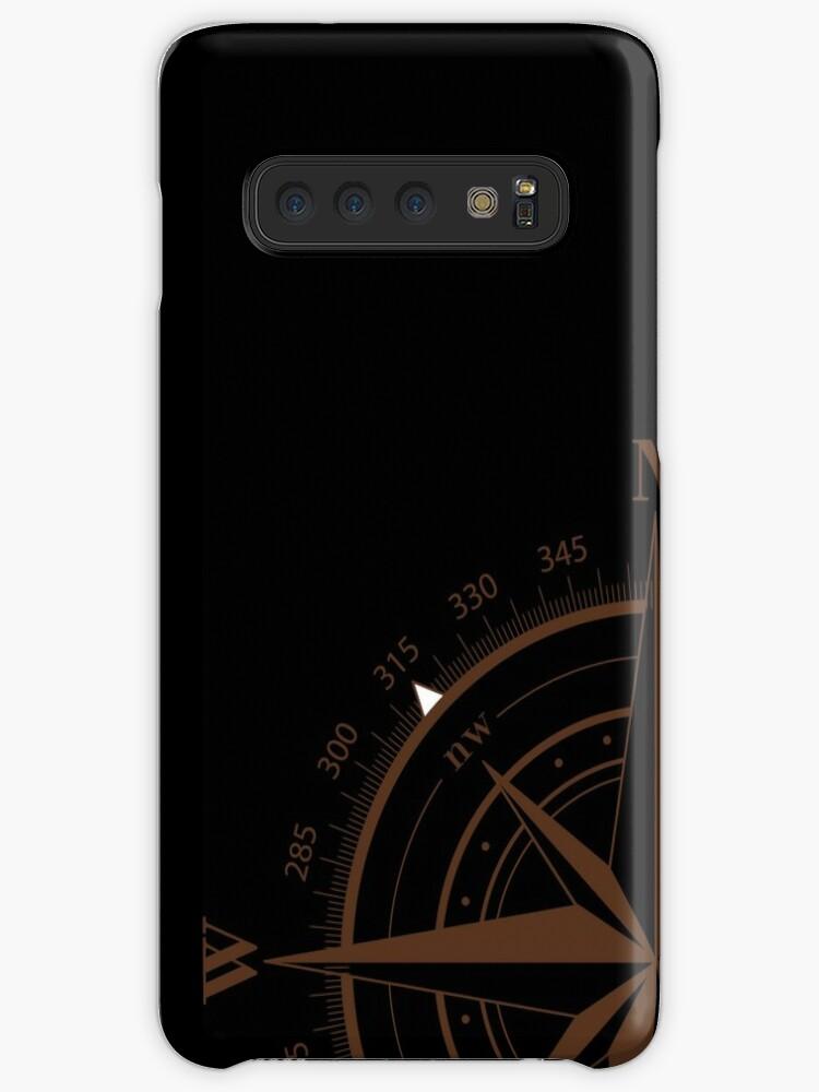 'True North Compass' Case/Skin for Samsung Galaxy by erik Coleman