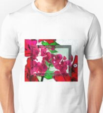 Bougainvillea Art T-Shirt