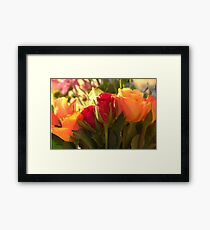 Bouquets, As Is Framed Print