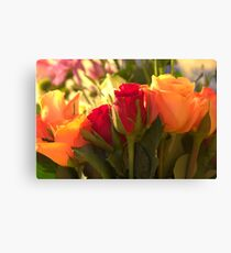 Bouquets, As Is Canvas Print