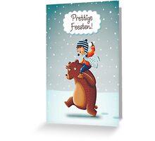 Kerstkaart  Greeting Card