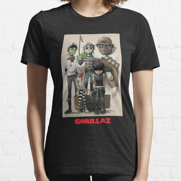 mejor amigo gorilaz Camiseta esencial