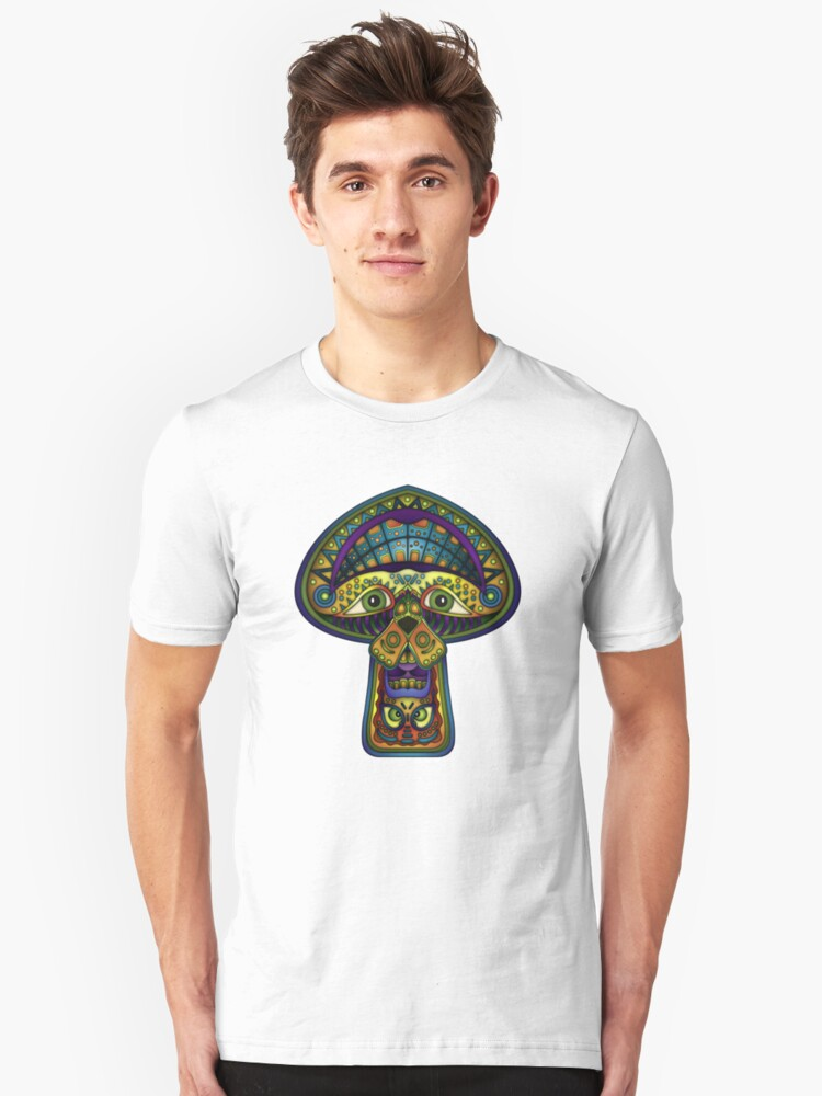 The Great Mushroom in the Sky Unisex T-Shirt Front