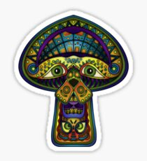The Great Mushroom in the Sky Sticker