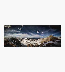Looking around Mt Evans Photographic Print