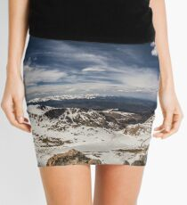 Looking around Mt Evans Mini Skirt