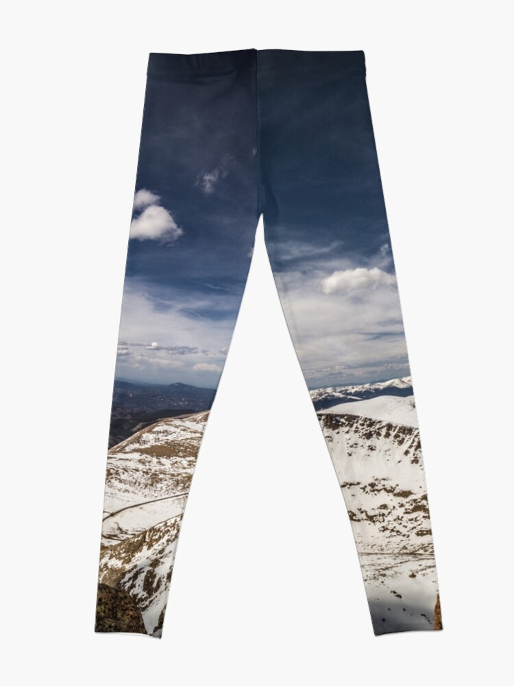 Alternate view of Looking around Mt Evans Leggings