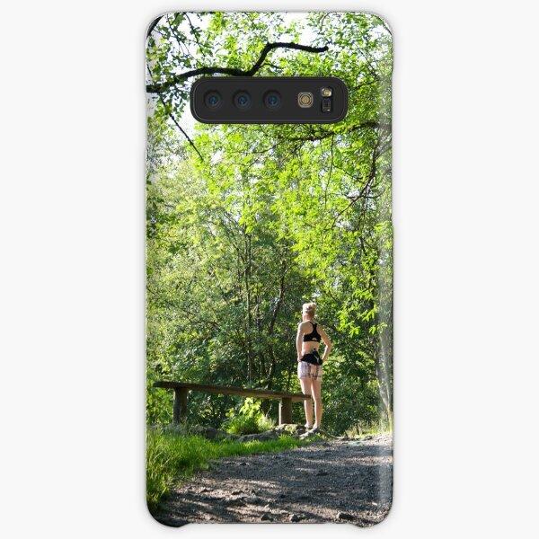 Absorbing sunlight Samsung Galaxy Snap Case