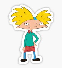 Hey Arnold Sticker