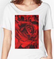 Red for the Holidays Women's Relaxed Fit T-Shirt