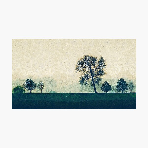 Impressionism Landscape Photographic Print