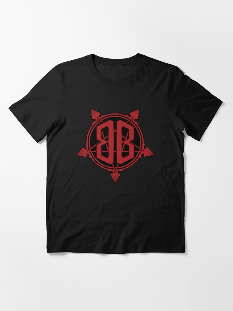 Alternate view of Bridgeburner Logo Red Gradient Essential T-Shirt