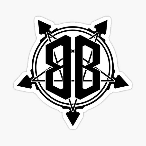 Bridgeburner Logo Black Sticker