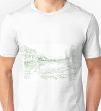 North American fir landscape T-Shirt