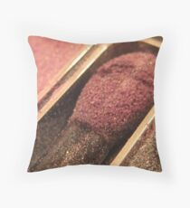 Makeup Series - Eye Shadow Throw Pillow