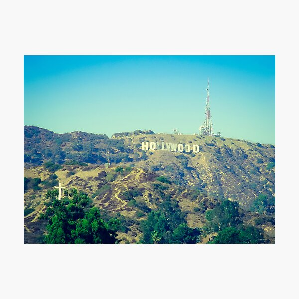 Hollywood Sign Photographic Print