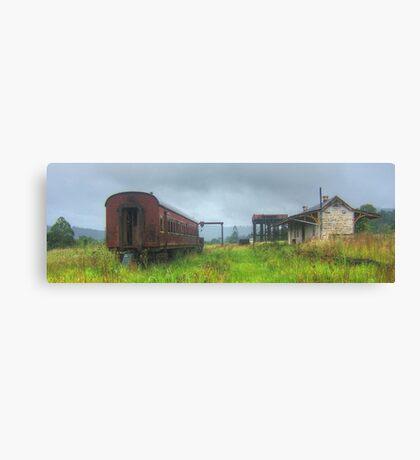 Glenreagh Railway Station Canvas Print