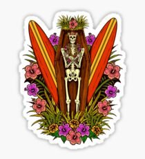 Tropical Horror Print 4 Sticker