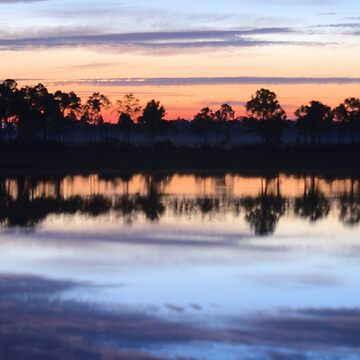 Sunrise on Webb Lake by fotokmcc