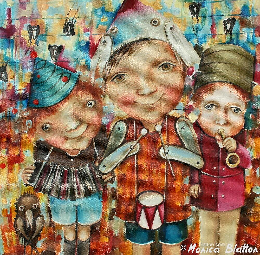 Orchestra by Monica Blatton