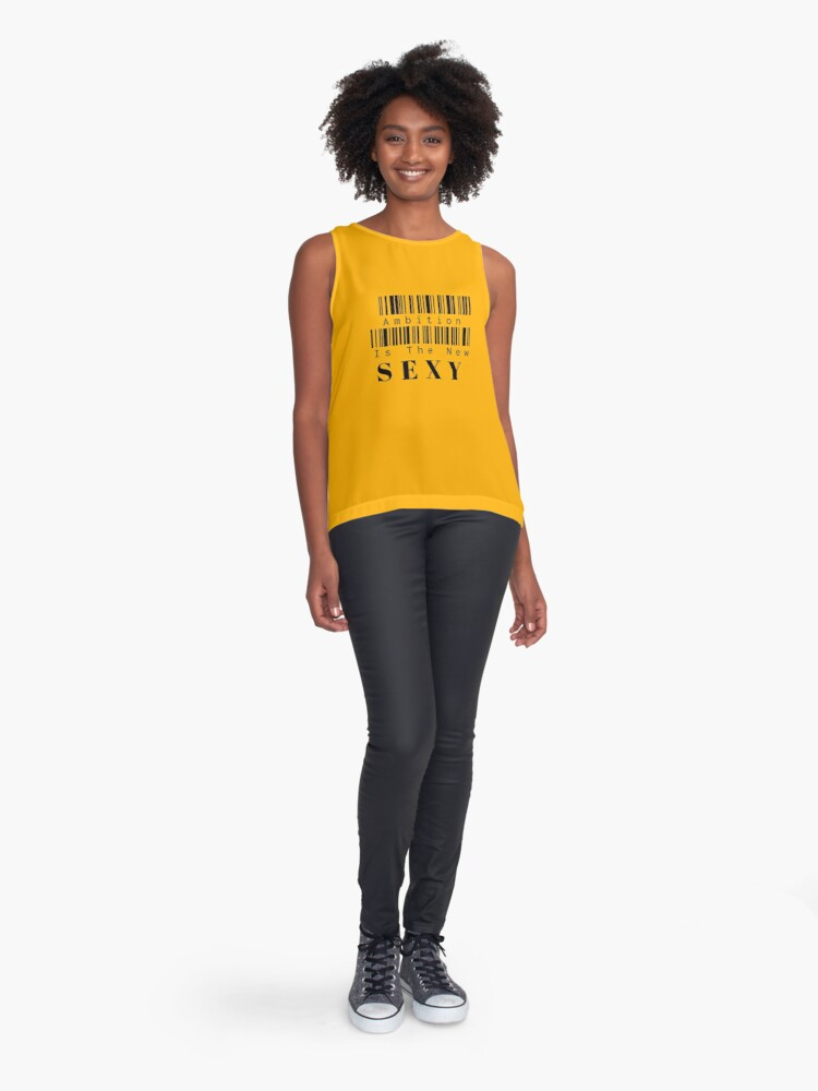 Alternate view of Ambition Is The New Sexy Sleeveless Top