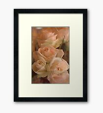 Everything is Rosy Framed Print