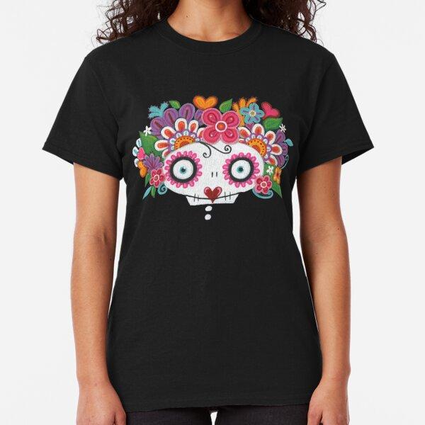 Catrina Skelly Camiseta clásica