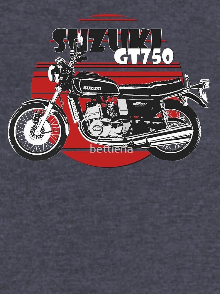 Suzuki GT750 by bettiena