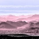 Red, White And Blue Hills Of The Tonto by Mike Herdering