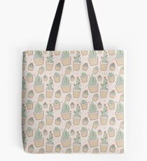 Cactus and Succulent Plants Tote Bag