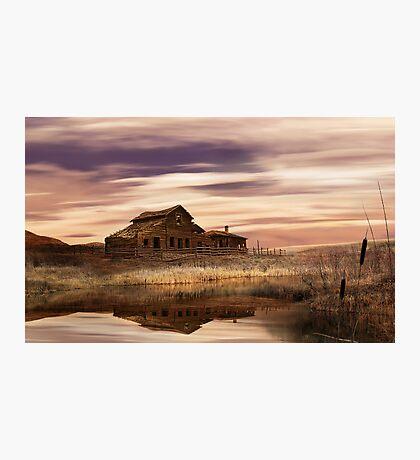 Black Sage Dawn Photographic Print