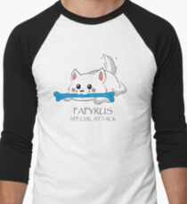 Undertale - Papyrus's special attack Men's Baseball ¾ T-Shirt