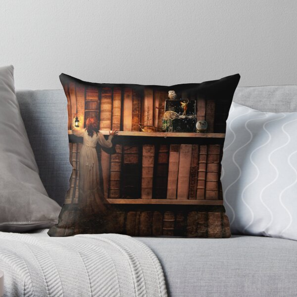 Treasure Hunt Throw Pillow