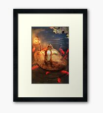 Columbus the Squirrel Framed Print