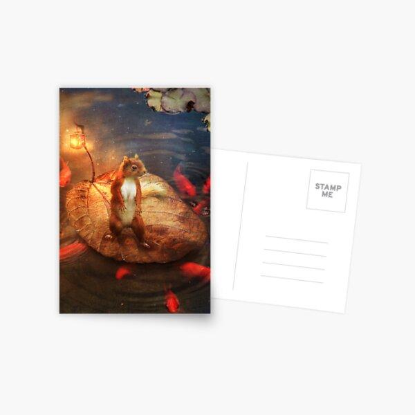 Columbus the Squirrel Postcard