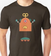 Cute Retro Robot Toy T-Shirt