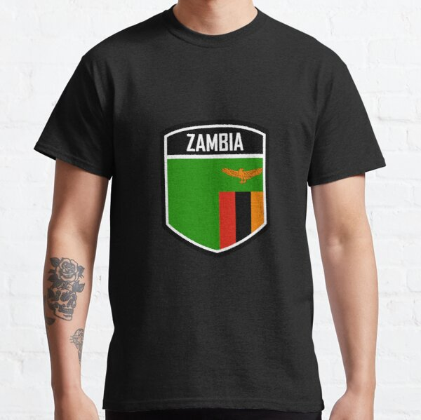 Zambia Flag Emblem Classic T-Shirt