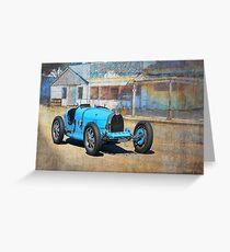 Bugatti T35A Greeting Card