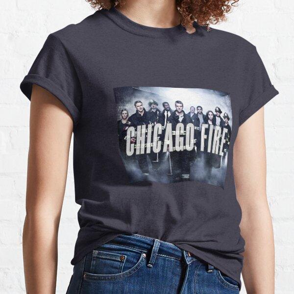 Fuego de Chicago Camiseta clásica