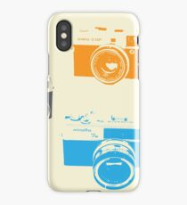 Vintage Cameras - The 35mm Rangefinder iPhone Case/Skin