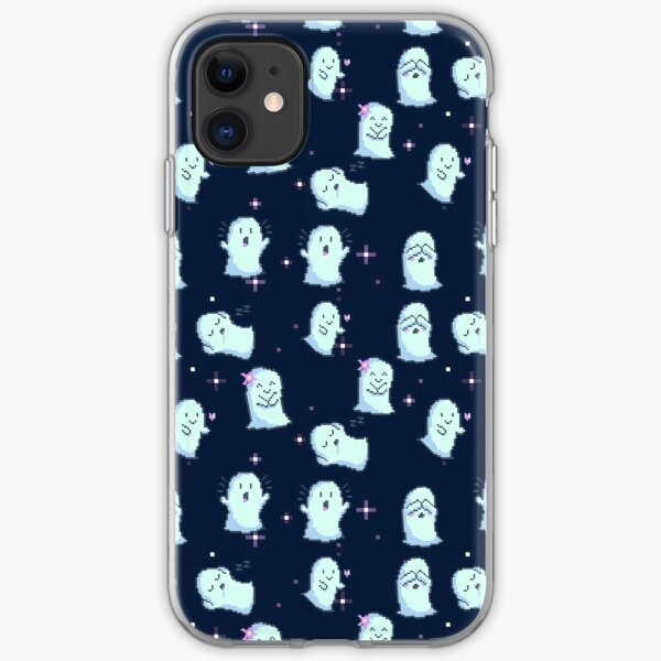 Pixel Ghosts iPhone Soft Case