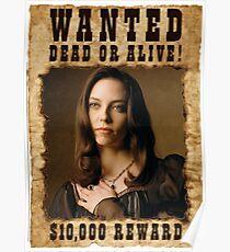 Buffy Drusilla Wanted 3 Poster
