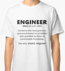 """Engineer"" funny definition Classic T-Shirt"